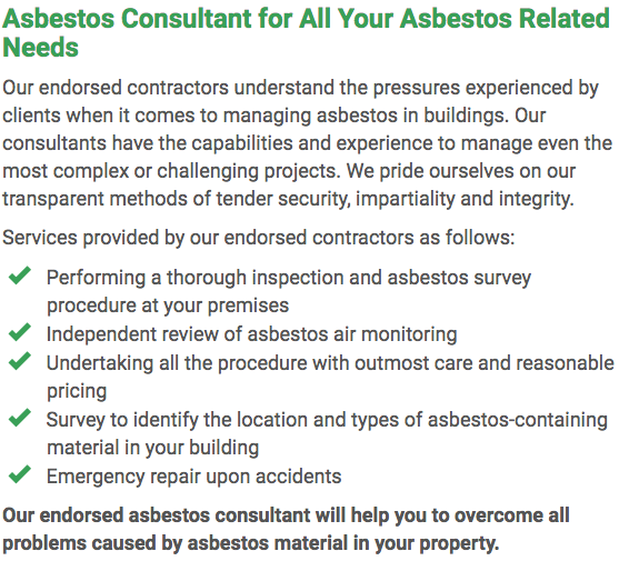 Asbestos Watch Wollongong - consultant right